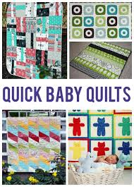 pattern ideas 10 easy baby quilt patterns that stitch up quick