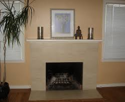 Cream Laminate Flooring White Wooden Fireplace Mantels On Over Grey Stone Fireplace On