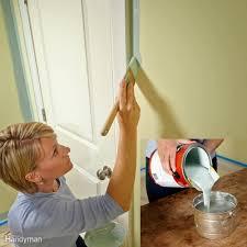 painting doors family handyman