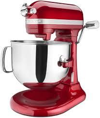 Kitchenaid Mixer Colors Kitchenaid Proline 7 Quart Mixer Candy Apple Red Ksm7586pca
