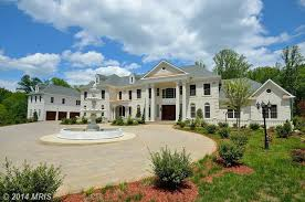 newly built 16 000 square foot colonial mansion in great falls va