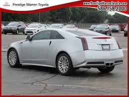 cadillac cts coupe 2011 2011 cadillac cts coupe performance coupe warren mi area toyota