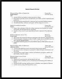 sample resume for teenager with no work experience sample resume