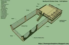 easy chicken coop plan for cold weather with simple chicken house