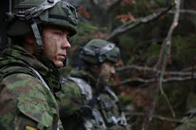 soldiers from the lithuania griffin 7th army command