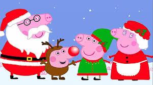 christmas with peppa pig christmas family peppa pig characters
