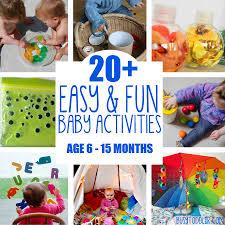 20 fun u0026 easy baby activities busy toddler