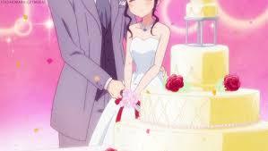 wedding cake gif anime wedding cake