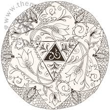 om mandala coloring pages cool lotus flower mandala coloring pages pictures inspiration