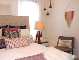 the big reveal rfbloggers mid century boho guest room makeover