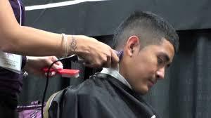 haircutting faux hawk clipper cut for men youtube