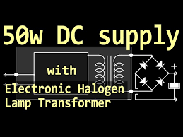 50w supply with halogen lamp transformer 10 steps with pictures