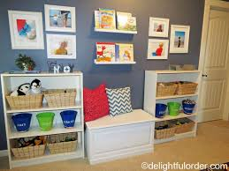 delightful order toy room tour