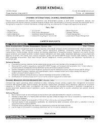 Channel Sales Manager Resume Sample by Catering Manager Resume Free Resume Example And Writing Download