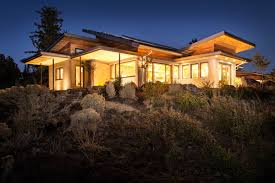 Oregon House by Oregon U0027s Desert Rain House Generates Clean Energy And Reuses Its