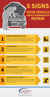 5 signs your vehicle needs transmission repair advanced