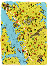 Land Between The Lakes Map Map Of The Land Between Lakes Area Pictures To Pin On Pinterest