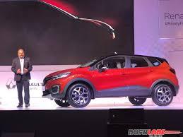 renault car models ranbir kapoor unveils the new renault captur in india