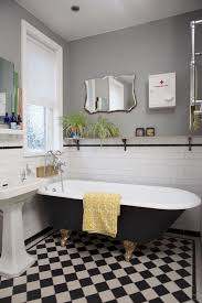 retro black white bathroom floor tile ideas and pictures retro black white bathroom floor tile ideas and pictures decorating pinterest tiles search