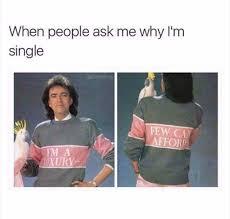 dopl3r com memes when people ask me why im single adabmoms few