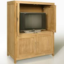 Computer Armoire With Pocket Doors by Tv Stands Literarywondrous Tv Armoire Witht Doorsc2a0 Image