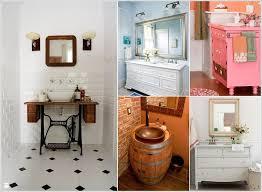 bathroom vanities ideas 12 amazing recycled material bathroom vanity ideas