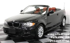 used bmw 1 series convertible 2011 used bmw 1 series 128i convertible premium package at