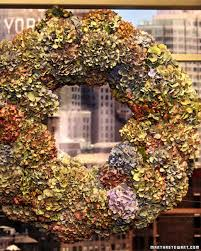 hydrangea wreath hydrangea wreath martha stewart