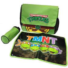 Tmnt Bathroom Set Amazon Com Tmnt Ninja Turtles Messenger Diaper Bag Set Clothing