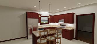 kitchen lighting recessed layout schoolhouse satin nickel mission