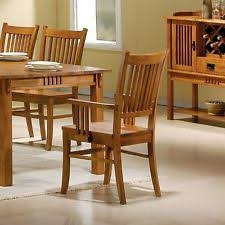 Styles Of Wooden Chairs Mission Style Dining Chairs Ebay