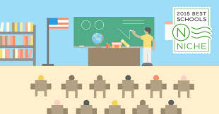 2018 best places to teach in america niche