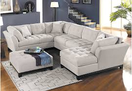 Living Room Sectional Sofas Sale Home Metropolis Platinum 4 Pc Sectional Living Room