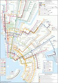 New York City Street Map by New Nyc Subway Map Elegantly Inspired By Concentric Circles