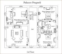 Italian Floor Plans Inside The Villa Palazzo Prugnoli Traditional Italian Villa