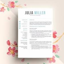 cv resume format professional and modern resume template for word u0026 pages the