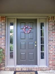 image result for best door colors for red brick home house