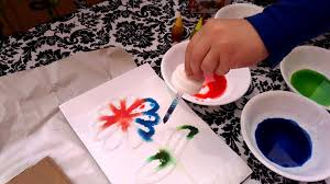 kids craft diy 3d salt painting summer activities youtube