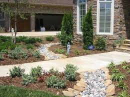 dry creek bed landscaping ideas dry creek bed made with ne river