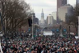 for parade eagles philly fans get catharsis through bowl parade wtop