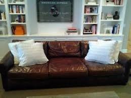 Lancaster Leather Sofa Ship My Restoration Hardware Leather Lancaster Sofa 112 M To