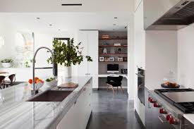 concrete flooring kitchen best kitchen designs