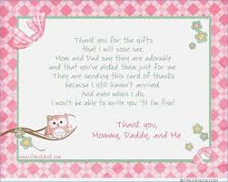 for baby shower what to write on a baby shower thank you card tomorrowliving me