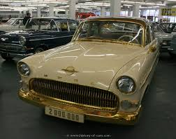 opel 1956 kapitaen 2000000 the history of cars exotic cars