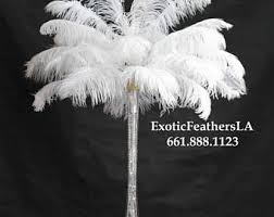 feather centerpieces feather centerpiece etsy
