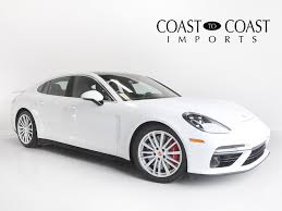 Porsche Panamera All White - carmel location inventory coast to coast auto sales