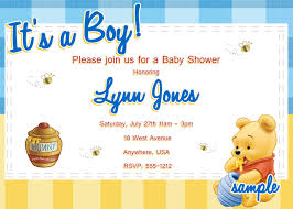 classic pooh baby shower invitations make your theme come together