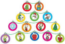 peanuts dimensional ornaments mini school bulletin