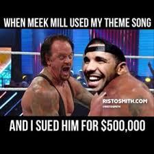 Undertaker Meme - drake meek mill image macro undertaker s screaming face know