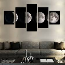 amazon com cao gen decor art aa40424 canvas prints 5 panels